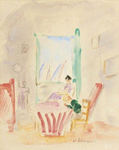 Das Museum Outlet–Hausaufgaben, gespannte Leinwand Galerie verpackt. 50,8x 71,1cm