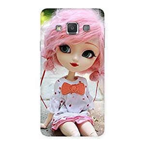 Pink Doll Back Case Cover for Galaxy A3
