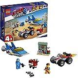 LEGO Movie 2 Emmet e l'officina Aggiustatutto di Benny Gioco per Bambini, Colore Vari, 70821