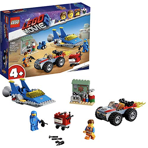 LEGO Movie 2 70821 Emmet and Benny's Build and Fix Workshop Best Price and Cheapest