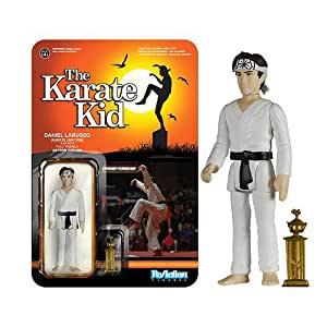 The Karate Kid ReAction Action Figure Daniel Larusso in Karate Suit 10 cm Funko