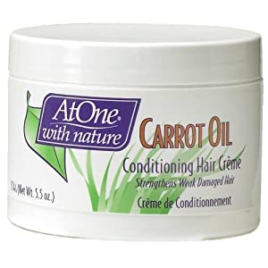 Conditioning Hair Creme, Carrot Oil – 154g by At One