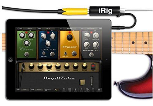 Cool Gitarre Interface Konverter iRig Guitar Tuners für iPhone/iPad/iPod -