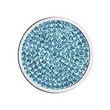 Meilanty Coin 33mm Schnee-Kristall für Halskette GP-05