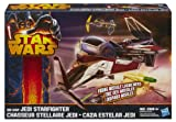 Obi-Wan Kenobi`s Jedi Starfighter Star Wars Revenge of the Sith Movie Heroes 2013 von Hasbro