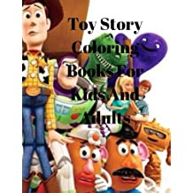 Toy Story Coloring Books For Kids And Adults