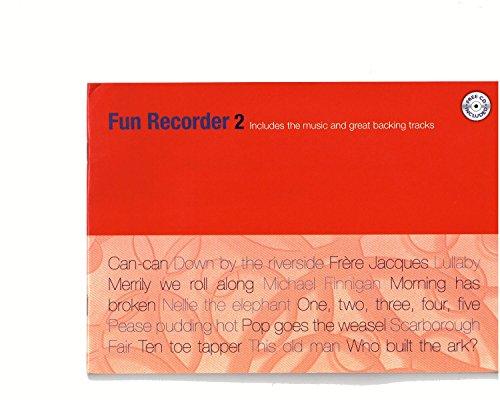 Kevin Mayhew FUN RECORDER 2 + CD Partition classique Bois Flûte à bec
