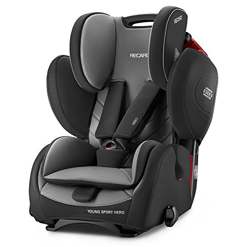 Recaro 6203.21502.66Seggiolino Auto per bambini Young Sport Hero, Carbon nero