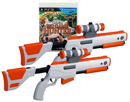 Top Elite Shot Gun (PS3 Cabela's Big Game Hunter 2012 Game w/ 2 GUNS Set Top Shot Elite Rifles by Cabela's)