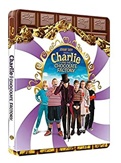 Charlie et la chocolaterie - Édition Limitée SteelBook - Blu-ray [Édition SteelBook] (B00W5PBFSO) | Amazon price tracker / tracking, Amazon price history charts, Amazon price watches, Amazon price drop alerts