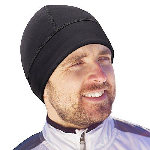 Schädelmütze Helm-Auskleidung für alle Motorrad- und Fahrradhelme, zum Radfahren und Laufen, Sport-Beanie