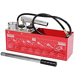 Hydraulic Manual Pressure Test Pump 711 PSI 5MPa Hand Power Water Leakage Testing Pumps for Pipeline Pressure Container Irrigation Firemen