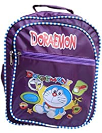 Fashionairs Kids School Bag Purple Colour With Doreamon Characters Backpack For Kids (Age- 2- 6 Years)