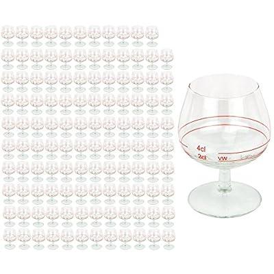 120er Set Cognacschwenker Casino Mit Rotring 2 Cl 4cl Geeichtes Cognacglas Fr Genieer Mit Fllstrich Likrglas Schnapsglas Fr Edle Tropfen Hochglnzendes Markenglas Spirituosenglas Klar