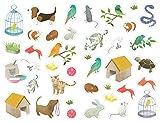"Maildor Pets Katzenfigur ""Mimi-Gruppen-Sticker, mehrfarbig"