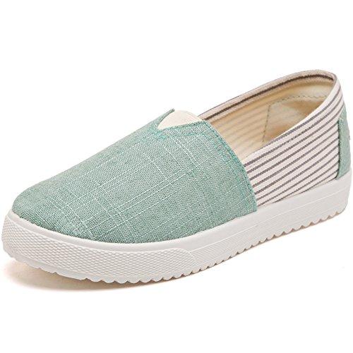 Chaussures Traditionnelles En Tissu De Pékin Pédale De Pied Chaussures Slip-on Chaussures à Fond Plat Dair Chaussures De Toile N