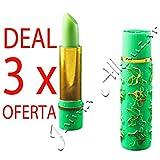 3 x Magie Hydrating Lipstick - Argan und Henna - Roll On Deluxe - Marokko
