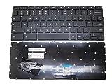 RTDPART Clavier d'ordinateur Portable pour Dell Chromebook 113120P22t 0Ck4nd Dlm14K13us-920Nsk-ln0sq. 01Aezm7u00110Noir des États-Unis US New