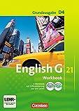 English G 21 - Grundausgabe D / Band 4: 8. Schuljahr - Workbook mit Audio-Materialien