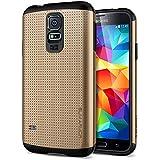 Spigen SGP10754 Slim Armor Series Case für Samsung Galaxy S5 copper gold