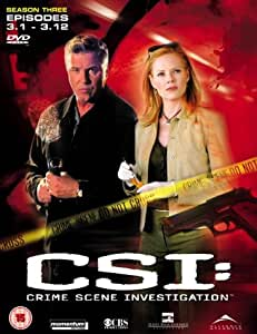 CSI: Crime Scene Investigation - Las Vegas - Season 3 Part 1 [DVD] [2001]