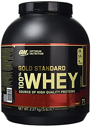 Optimum Nutrition Gold Standard 100% Whey 2273 g Milk Chocolate Protein Shake Powder