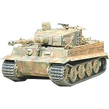 Tamiya 35146 - Maqueta Para Montar, Tanque Tiger I Última Versión Escala 1/35