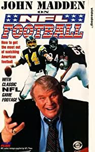 John Madden on NFL Football [VHS] [UK Import]