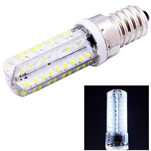 XHD-Beleuchtung E14 3.5W weißes Licht 200-230LM 72 LED SMD 3014 Mais-Glühlampe, justierbare Helligkeit, Wechselstrom 220V / 110V (Artikelnummer : S-LED-6502W)