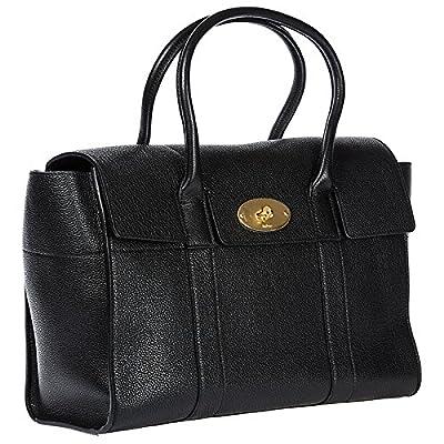 Mulberry women's leather shoulder bag original black - hobos-shoulder-bags