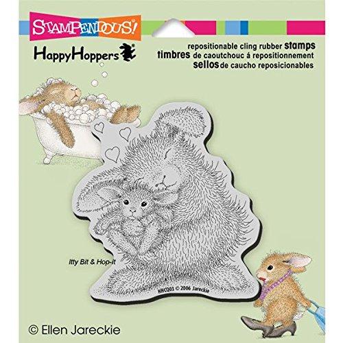 stampendous-tampons-en-caoutchouc-etirable-happyhopper-35-x-10-cm-bunny-luv