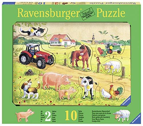 Ravensburger 03672 - Kunterbunter Bauernhof