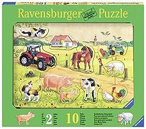 Ravensburger 03672 10pieza(s) Puzzle - Rompecabezas (Rompecabezas de Figuras, Niños, 2 año(s), Madera, 295 mm, 205 mm)
