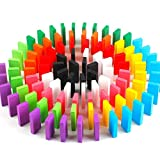 Vivir Wooden Domino Game Set for Kids and Adults - 100 Pieces