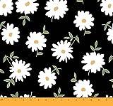 Soimoi 42 Zoll breit mit Blumenmuster 55 GSM Viscose