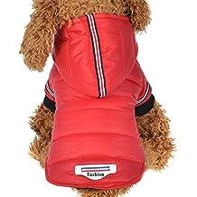 Ropa para mascotas ,RETUROM Invierno abrigo chaqueta caliente para mascotas perro