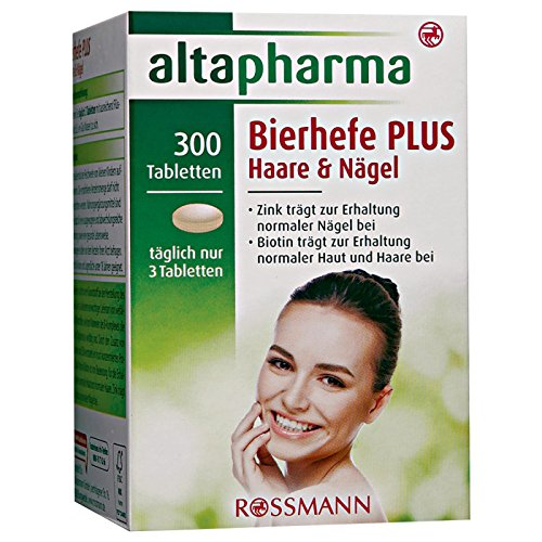 Altapharma Bierhefe Tabletten Plus Haare Nagel