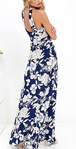 ... Damen Kleid LOBTY Sommer Lang Etuikleid Spitzekleid Sommerkleid  Maxikleid Abendkleid Cocktailkleid Partykleid Spitze Eng Neckholder  Ärmellos ... 0050ee890b
