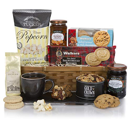 Highland Hamper - Scottish Hampers - Birthday Hamper - Send A Taste of Scotland to Family and Friends
