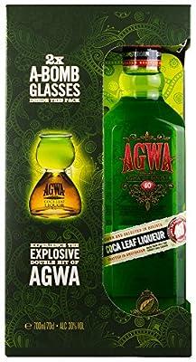 Agwa de Bolivia 30% Alk.Vol. 0,7l PiHaMi® Geschenkset mit 2 Gläsern Edition 2017