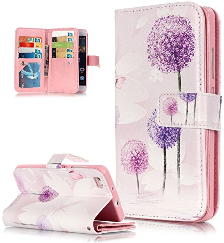 roreikes-huawei-p8-lite-hulle-huawei-p8-lite-case-hulle-muster-blume-strap-wallet-cover-tasche-bunte