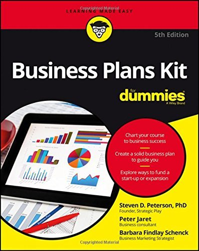 Business Plans Kit For Dummies by Steven D. Peterson (2016-07-22)