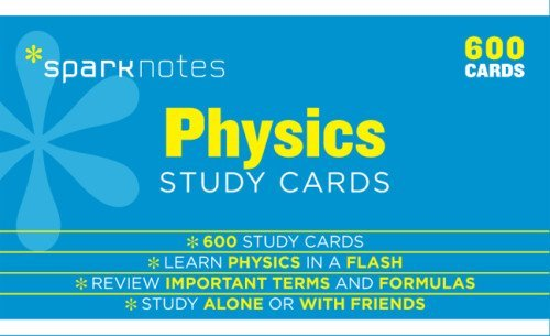Physics (SparkNotes Study Cards): Written by SparkNotes Editors, 2014 Edition, (Box Crds) Publisher: SparkNotes [Cards]