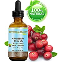 CRANBERRY SEED OIL 100% Pure / Natural. Cold Pressed /