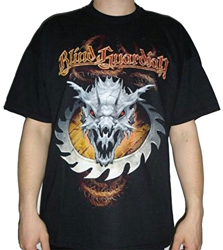T-Shirt Blind Guardian – IMAGINACIÓN a través del cristal negro negro XL