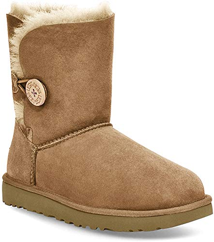 UGG Bailey Button II 1016226-che, Botas de Nieve para Mujer, Marrón (Brown 1016226/Che), 38 EU