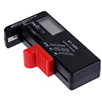 Anpro Testeur de Piles UniverselAAA AA Batterie Testeur de 1.5V 9V,Bouton Testeur Numérique Affichage Digital Pas Besoin…
