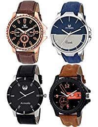 Armado AR-81019361 Combo of 4 Multicolours Watches