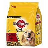 Pedigree Trocken Adult mit Rind & Gemüse 3kg Hundefutter