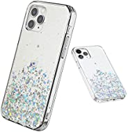 QITELE iPhone case,Bling Sparkle Cute Girls Women Protective Case for iPhone 12 Mini/Pro/Max